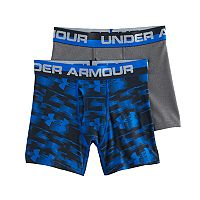 Boys 8-20 Under Armour Blur 2-Pack Boxer Briefs