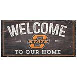 Oklahoma State Cowboys Welcome Sign Wall Art