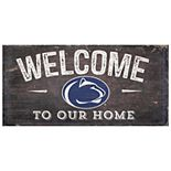 Penn State Nittany Lions Welcome Sign Wall Art