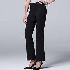 Women's Simply Vera Vera Wang Bootcut Ponte Pants