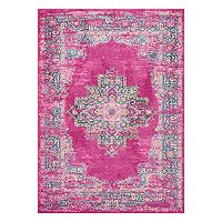 Nourison Passion Framed Medallion Rug