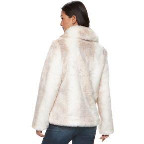 Women's Jennifer Lopez Faux-Fur Coat