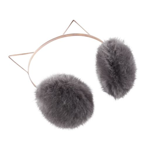 Women's LC Lauren Conrad Faux-Fur Kitty Earmuffs