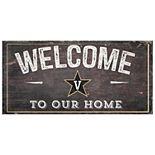 Vanderbilt Commodores Welcome Sign Wall Art