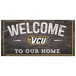 VCU Rams Welcome Sign Wall Art