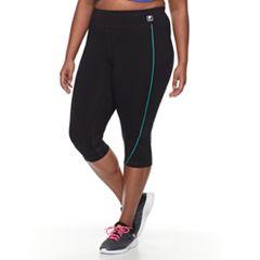 Plus Size FILA SPORT® Core Capri Pant