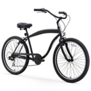 Men's sixthreezero In The Barrel 26-Inch Seven Speed Beach Cruiser Bike