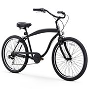 Men's sixthreezero In The Barrel 26-Inch Seven Speed Beach Cruiser Bike
