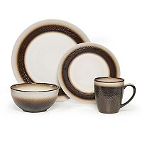 Pfatlzgraff Eclipse Bronze 16-pc. Dinnerware Set