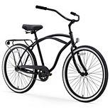 Men's sixthreezero Around the Block 26-Inch Single Speed Beach Cruiser Bike