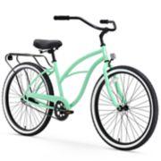 Women's sixthreezero Around the Block 26-Inch Single Speed Beach Cruiser Bike