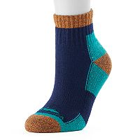Women's High Sierra Colorblock Performance Quarter Socks