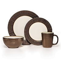 Gourmet Basics Metropolitan 16 pc Dinnerware Set