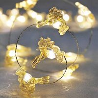 Manor Lane 10-ft. Reindeer Christmas String Lights