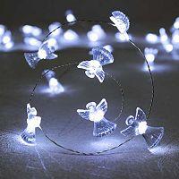 Manor Lane 10-ft. Angel String Lights