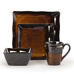 Gourmet Basics Gallatin Sq. 16 pc Dinnerware Set