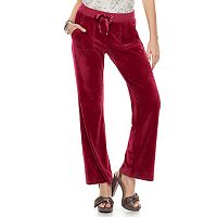 Women's Juicy Couture Supersoft Velour Bootcut Pant