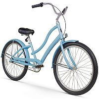 Women's Firmstrong CA-520 26-Inch Three Speed Beach Cruiser Bike