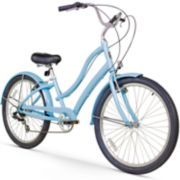 Women's Firmstrong CA-520 26-Inch Seven Speed Beach Cruiser Bike