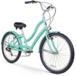 Women's Firmstrong CA-520 Mint 26-Inch Seven Speed Beach Cruiser Bike