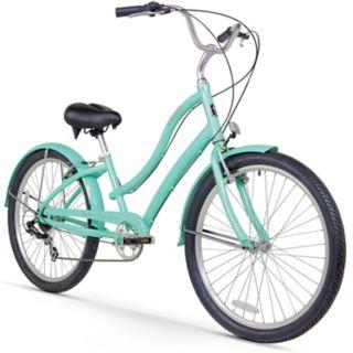 Women's Firmstrong CA-520 Mint 26-Inch Seven Speed Beach Cruiser Bike