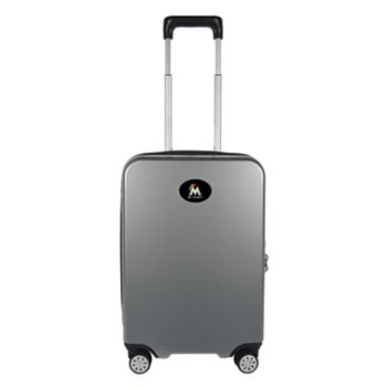 Miami Marlins 22-Inch Hardside Wheeled Carry-On with Charging Port