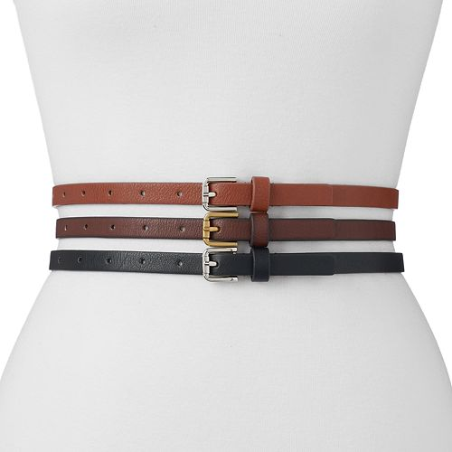 Women's SONOMA Goods for Life™ 3-for-1 Belt Set
