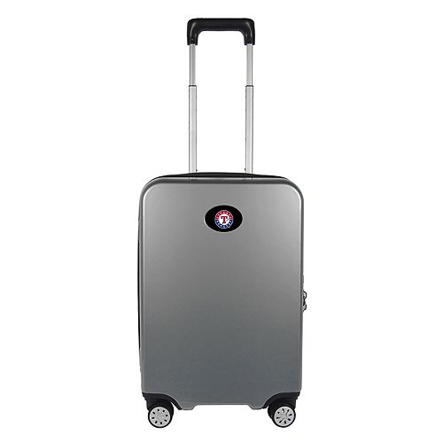 Texas Rangers 22-Inch Hardside Wheeled Carry-On with Charging Port