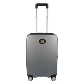 Cincinnati Bengals 22-Inch Hardside Wheeled Carry-On with Charging Port