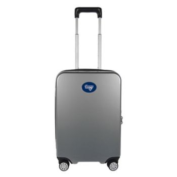 Los Angeles Rams 22-Inch Hardside Wheeled Carry-On with Charging Port