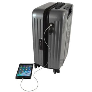 New York Jets 22-Inch Hardside Wheeled Carry-On with Charging Port
