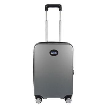 Seattle Seahawks 22-Inch Hardside Wheeled Carry-On with Charging Port