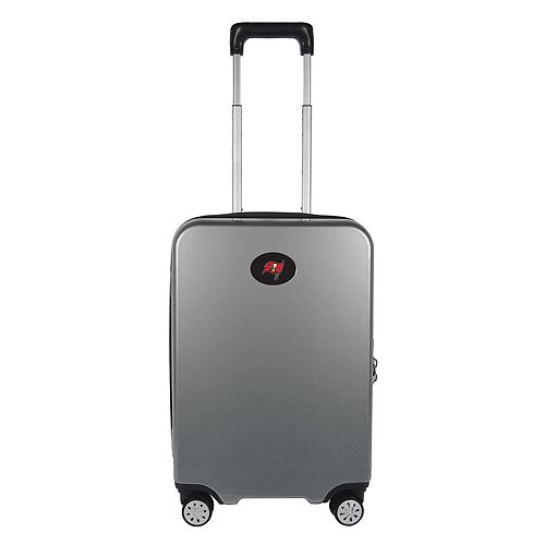 Tampa Bay Buccaneers 22-Inch Hardside Wheeled Carry-On with Charging Port