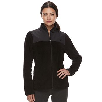 FILA Sport Womens Long Sleeve Fleece Jacket