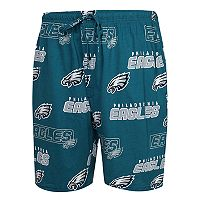 Men's Concepts Sport Philadelphia Eagles Slide Shorts
