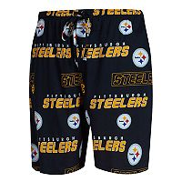 Men's Concepts Sport Pittsburgh Steelers Slide Shorts