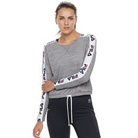 Women's FILA SPORT® Side Tape Long Sleeve Tee