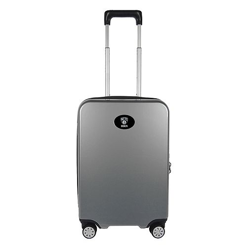 Brooklyn Nets 22-Inch Hardside Wheeled Carry-On with Charging Port