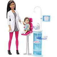 Barbie® Dentist Doll & Playset by Mattel