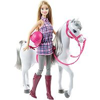 Barbie® Doll & Horse by Mattel