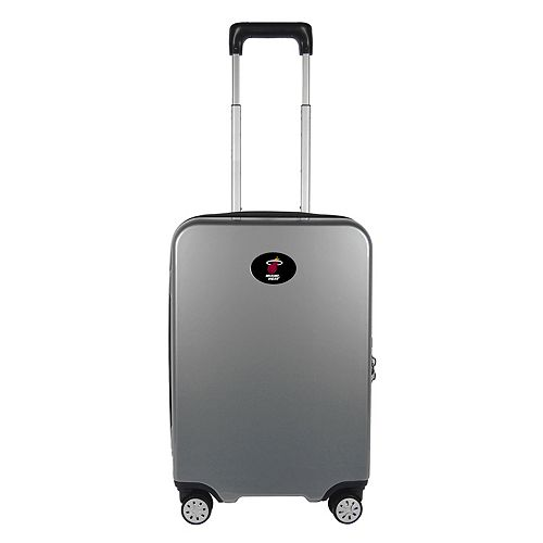Miami Heat 22-Inch Hardside Wheeled Carry-On with Charging Port