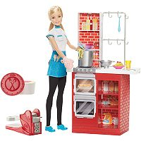 Barbie® Spaghetti Chef Doll & Playset by Mattel