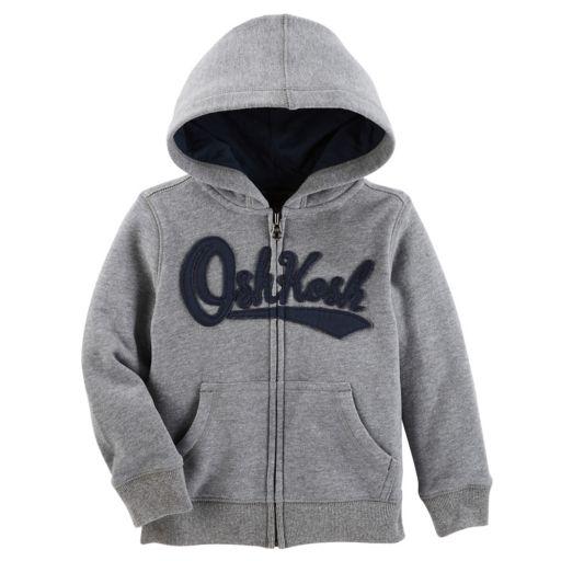 Baby Boy OshKosh B'gosh® Logo Zip Hoodie