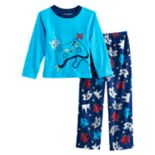 Boys 6-12 Up-Late Video Game 2-Piece Fleece Pajama Se