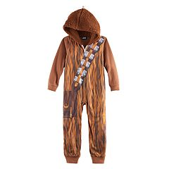 Boys 6-12 Star Wars Chewbacca Union Suit