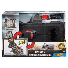 Hot Wheels DC Comics Justice League Batman Transforming Flying Fox