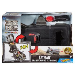 Hot Wheels DC Comics Justice League Batman Transforming Flying Fox