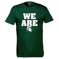 Men's Michigan State Spartans We Are Tee