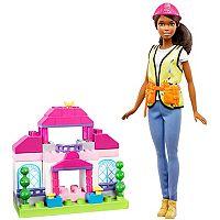 Barbie® Brunette Builder Doll & Playset by Mattel