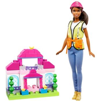 Barbie® Brunette Builder Doll & Playset by Mattel